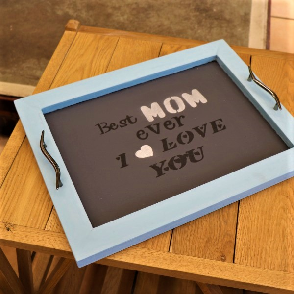 70063186 - Chique Chalkboard Tray