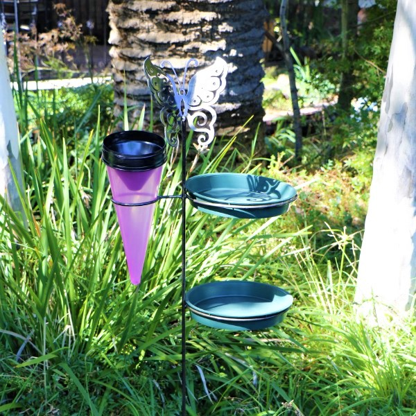 70063875 - Gift Feeder Steel Butterfly with Rain Gauge and Seeds (7)