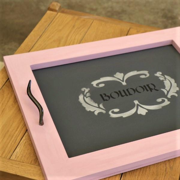 70063887 - Chique Chalkboard Tray (7)