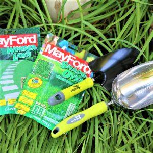 Garden Trowel with Garden Scoop and Mayford Seeds