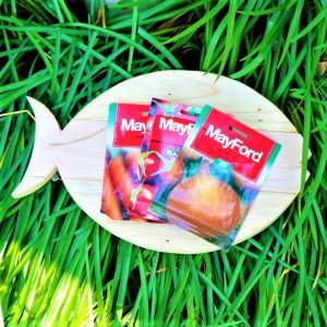 Fish Shaped Chopping Board with Mayford Seeds