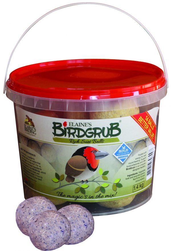 70041101 -Elaines - Birdgrub Suet Balls 1.4kg